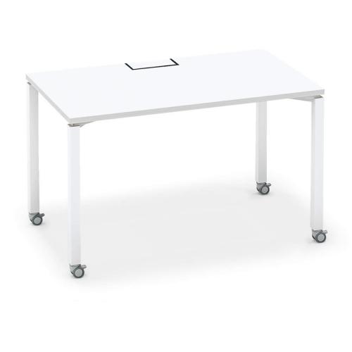 コクヨ KOKUYO オフィスデスク ワークフィット スタンダードテーブル 片面タイプ アジャスター脚/キャスター脚 W1200×D700 SD-WFA127/SD-WFC127