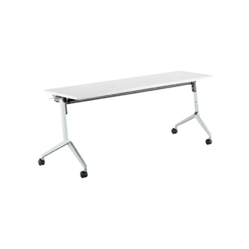 コクヨ KOKUYO ミーティングテーブル リーフライン フラップテーブル  パネルなしタイプ 棚なし W1200×D450×H720mm KT-1204