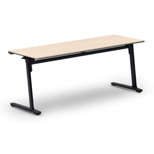 コクヨ KOKUYO ミーティングテーブル CALM カーム フラップテーブル  パネルなしタイプ 棚なし W1800×D600×H720mm KT-1401