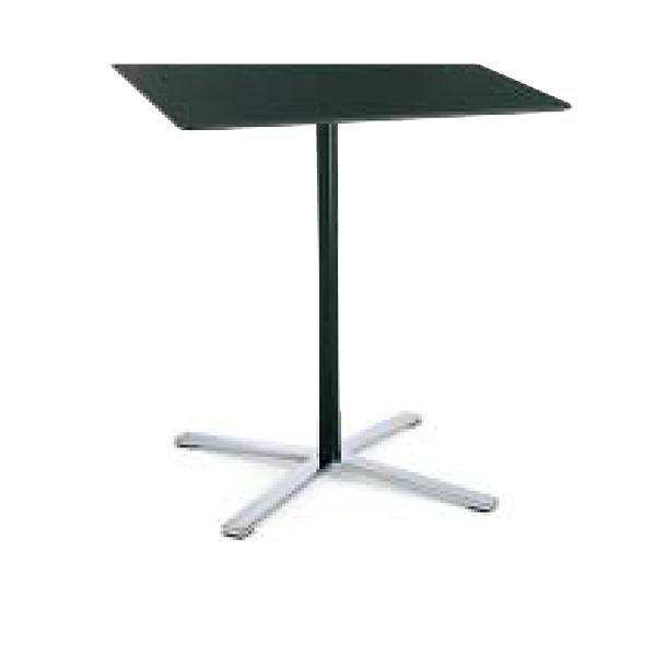 コクヨ KOKUYO Wilkhahn ミーティングテーブル Aline. エーライン 角形テーブル 天板ブラック W700×D700×H730 XWH-2352BKBK
