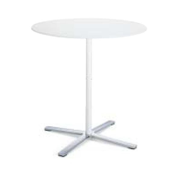コクヨ KOKUYO Wilkhahn ミーティングテーブル Aline. エーライン 円形テーブル 天板ホワイト φ750×H730 XWH-2362WHWH