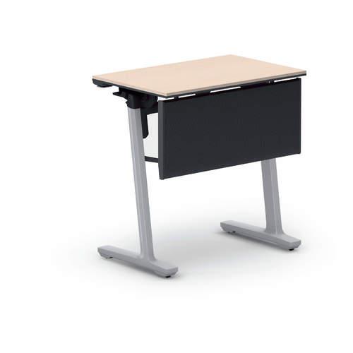 コクヨ 研修施設用テーブル カーム フラップテーブル パネル付き/棚なし KT-PJ147