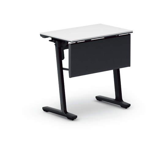 コクヨ 研修施設用テーブル カーム フラップテーブル パネル付き/棚付き KT-PJS147