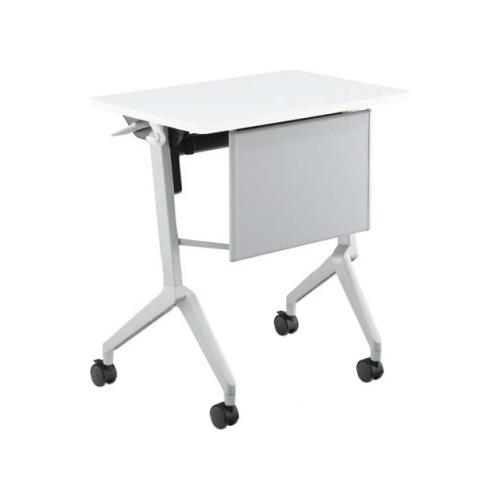 コクヨ 研修施設用テーブル リーフラインS(Leafline/S) フラップテーブル 棚なし・パネル付き:Aスクエア天板/Bグループ天板 KT-P126