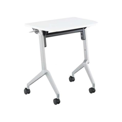 コクヨ 研修施設用テーブル リーフラインS(Leafline/S) フラップテーブル 棚なし・パネルなし:Aスクエア天板/Bグループ天板 KT-126
