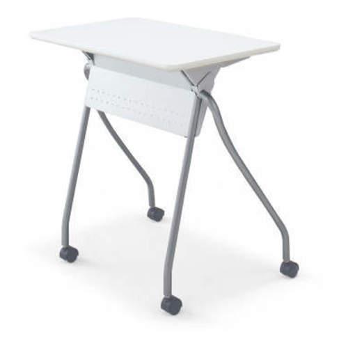 コクヨ 研修施設用テーブル プレサテーブル/S フラップテーブル 水平スタックタイプ/ナイロン/ポリウレタン SST-PSFH1B