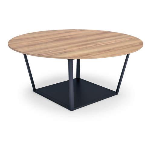 コクヨ ミーティングテーブル リージョン(Region) ボックス脚 円形テーブル/ミドルテーブル/メラミン天板 LT-RGC18M