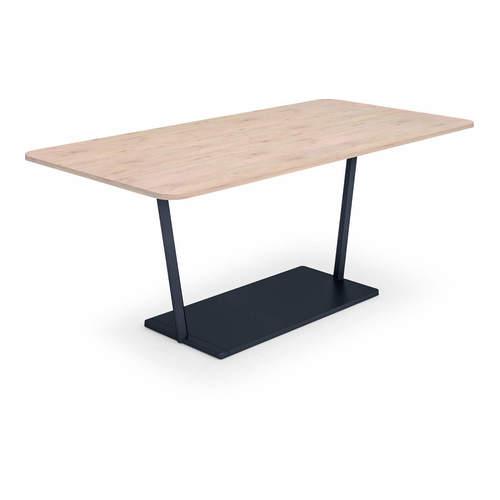 コクヨ KOKUYO ミーティングテーブル Region リージョン 会議用テーブル T字脚 角形テーブル/ミドルテーブル/メラミン天板 W1600×D900×H720mm LT-RG169M