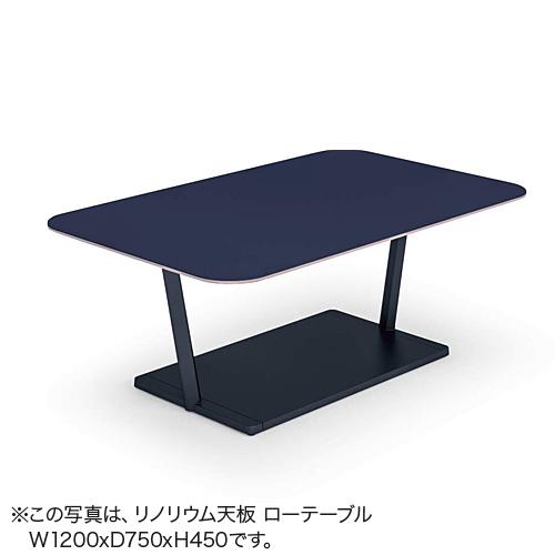 コクヨ ミーティングテーブル リージョン(Region) T字脚 角形テーブル/ローテーブル/メラミン天板 LT-RG167L