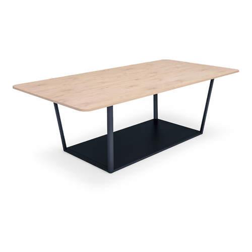 コクヨ ミーティングテーブル リージョン(Region) ボックス脚 角形テーブル/ミドルテーブル/メラミン天板 LT-RG2418M