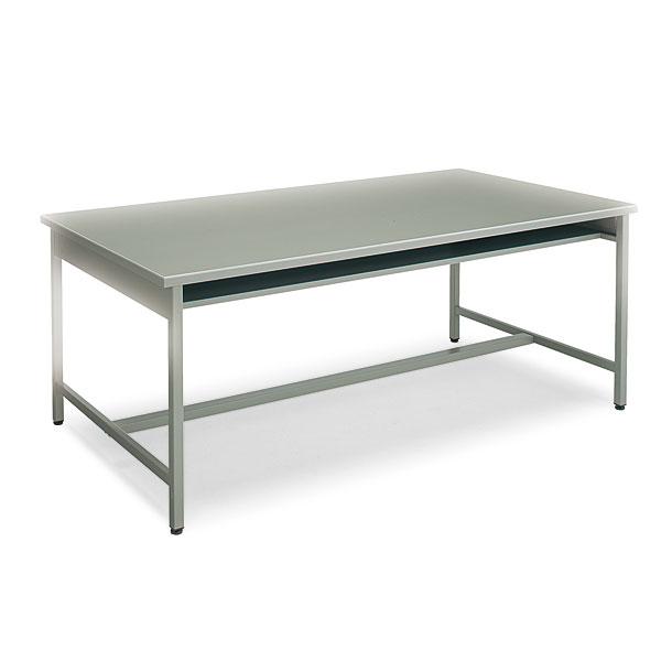 コクヨ 事務用デスクSR型 H700タイプ 会議用テーブル グレー W1800×D900×H700mm KT-SR52N
