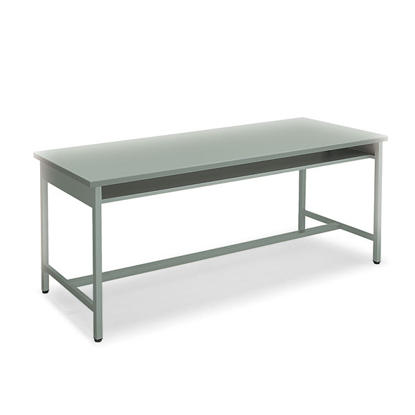 コクヨ 事務用デスクSR型 H700タイプ 会議用テーブル グレー W1800×D600×H700mm KT-SR51N