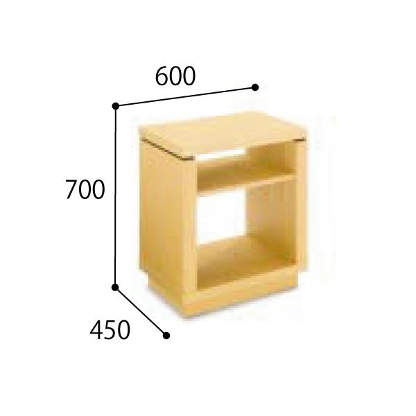 コクヨ KOKUYO 応接セット  NT-150シリーズ 電話台 W600×D450×H700mm NT-157W31/NT-157W35/NT-157W39
