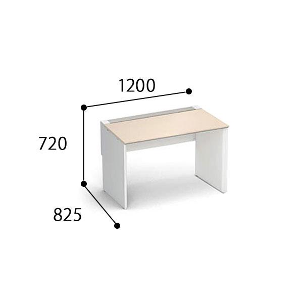 コクヨ ワークヴィスタ+ 片面タイプ D800 配線カバー 開閉式 DWV-WD1208