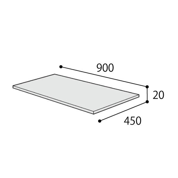 コクヨ エディア スタンダード オプション 天板 W900×D450用 BWUT-W9