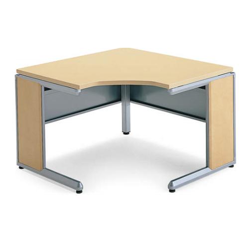 コクヨ フレスコデスクシステム L型テーブル W1100xD1100(800)xH700 SD-FRL908LP81P1MN3
