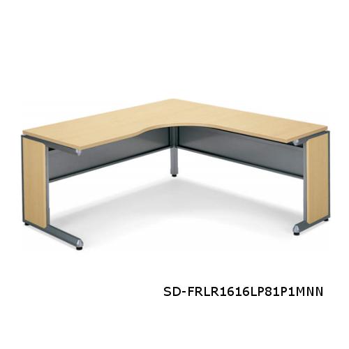 コクヨ フレスコデスクシステム L型テーブル ロングリターン W1600xD1600xH700 SD-FRLL1616LP81P1MNN/SD-FRLR1616LP81P1MNN