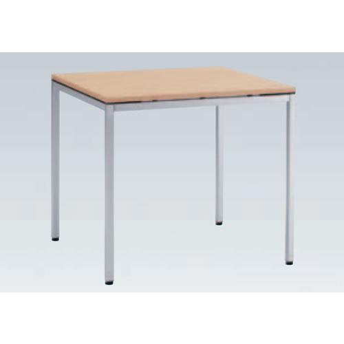 岡村製作所 オカムラ OKAMURA トレッセ ミーティングテーブル W800×D800×H720 L677AS-MG73(ホワイト)/L677AS-MQ87(ネオウッドライト)