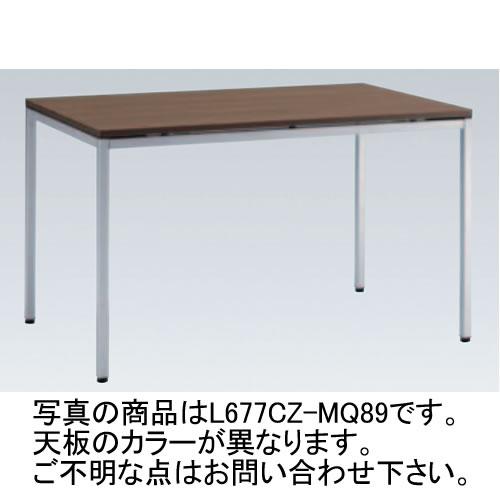 岡村製作所 オカムラ OKAMURA トレッセ ミーティングテーブル W1200×D900×H720 L677CZ-MG73(ホワイト)/L677CZ-MQ87(ネオウッドライト)