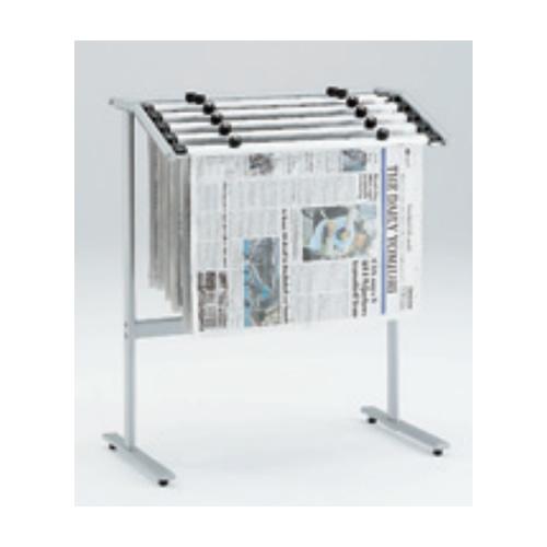 岡村製作所 オカムラ OKAMURA 新聞架 新聞ばさみ6本付 W685×D400×H800 L958LA-Z637