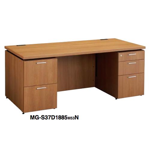 コクヨ 役員家具 マネージメント S370シリーズ 両袖デスク W1800×D850×H720 MG-S37D1885M53N4/MG-S37D1885M55N4/MG-S37D1885M59N4