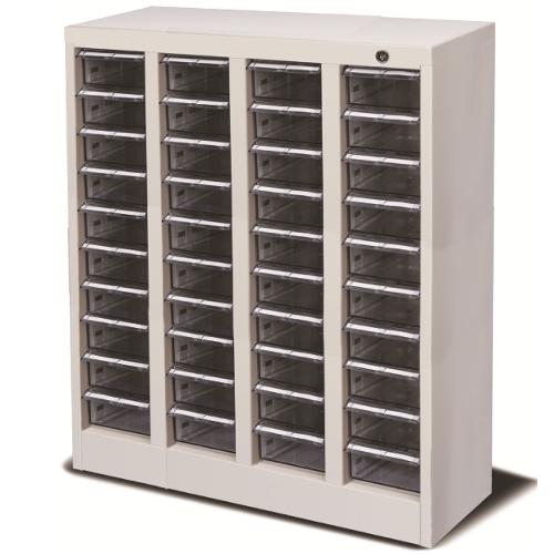 宮成製作所 ミヤナリ 薬剤保管庫 ブリスターパック用 シリンダー錠 4列10段 W632xD300xH880 MLB-40C