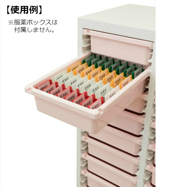ミヤナリ 薬剤保管庫 メディロック MLG配薬キャビネット 27人用 ダイヤル錠 深型3列9段 MLGC-327D