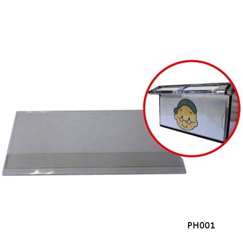 宮成製作所 ミヤナリ 薬剤保管庫 写真ホルダー 115x50 PH001 【保管庫一括納品の場合のみ送料無料】