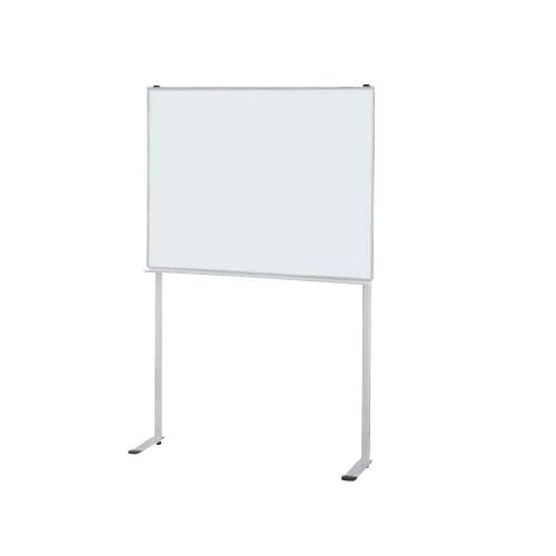 ナイキ ホワイトボード 壁面専用脚付ホーローホワイトボード W1200×D280×H1793 BBE412