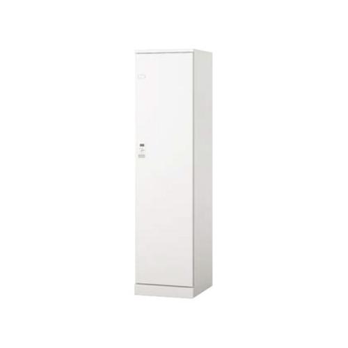 ナイキ 1人用ロッカー BLN型 ダイヤル錠タイプ W450D515H1800 ウオームホワイト/クリアーホワイト BLN1LD-AW/BLN1LD-W/