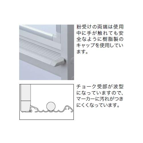 ナイキ ホワイトボード(板面スチールホワイトタイプ)