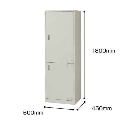 ナイキ オフィスキッチン ウォームホワイト W600×D450×H1800mm OK14-AW