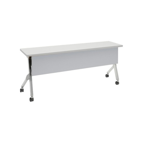 オカムラ フラプターテーブル サイドフォールディングテーブル 棚板なし 幕板付 81F1AA-MG99