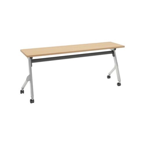 オカムラ フラプターテーブル サイドフォールディングテーブル 棚板なし 幕板なし 81F1AX-MK37
