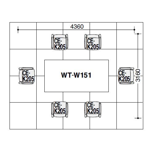 マデウス WT-150テーブル