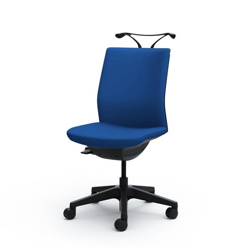 オカムラ omnes オフィスチェア オムネスチェア クッションタイプ 肘なし 樹脂脚 ハンガー付 ナイロンキャスター C536WR-F/C536ZR-F/C536WR-PB/C536ZR-PB