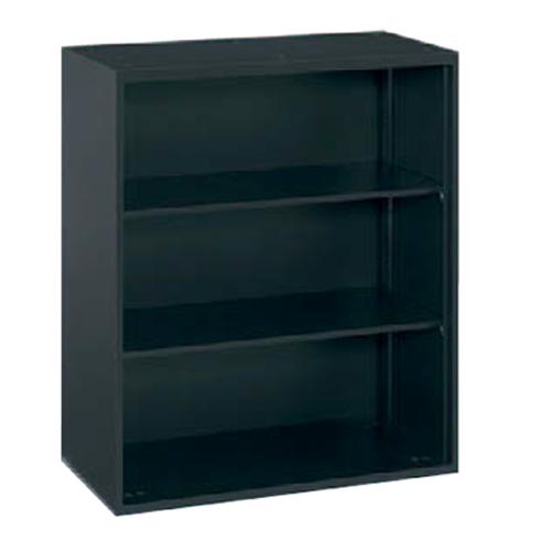 オカムラ okamura レクトライン ブラックタイプ シェルビング オープン書庫 上置き・下置き用 W900D450H1050  4B53ZZ-ZH25