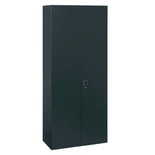 岡村製作所 オカムラ レクトライン ブラックタイプ 両開き書庫 下置き用 W900D450H2100  4B38ZF-ZH25