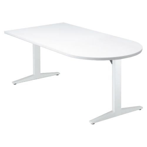 プラス STAGEO ステージオ テーブル(長U形) ミーティングテーブル W1200×D800×H720 ST-120TU