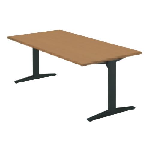 プラス ステージオ テーブル(長方形) ミーティングテーブル W1400×D750×H720 ST-140TR