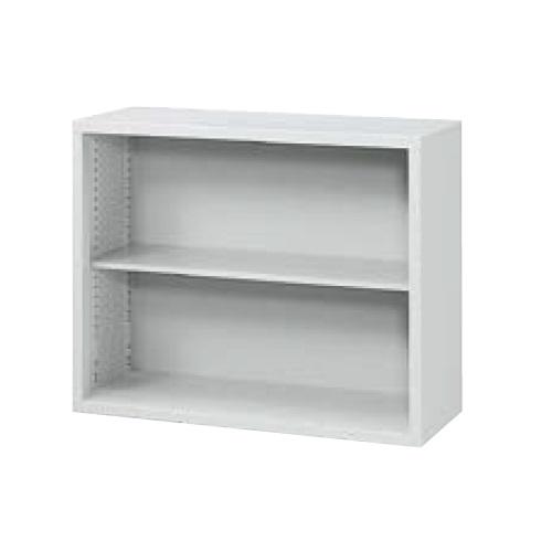 ウチダ A4判書庫 上置き07型オープン書庫 W900×D400×H730 棚板1枚 5-847-3002