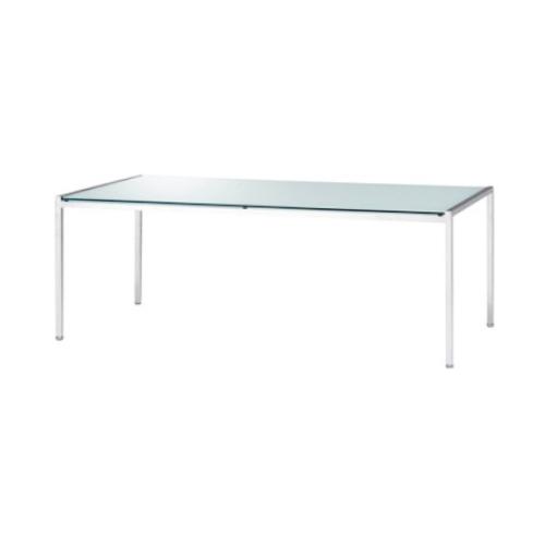 ウチダ ロビーチェア UL-600シリーズ ガラス天板 W1240×D600×H450 センターテーブル UL600  6-230-6100