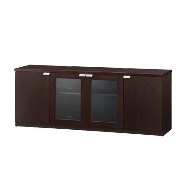 ウチダ 役員用家具 EDファニチュア SYシリーズ サイドボード(開き戸) W1802×D458×H697mm 6-320-8230