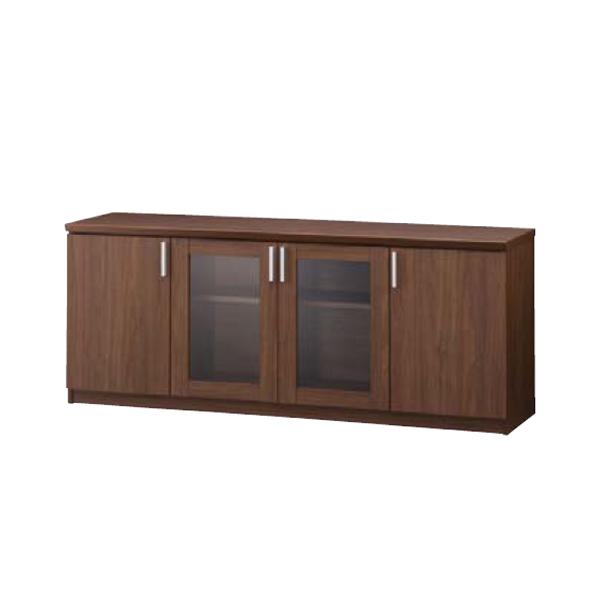ウチダ 役員用家具 EDファニチュア SHシリーズ サイドボード(開き戸) W1726×D455×H701mm 6-320-8030