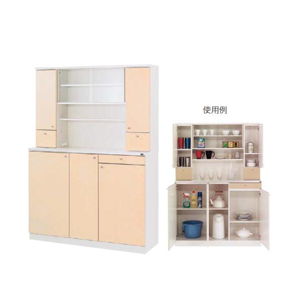 ウチダ 木製ビジネスキッチン MK型 ハイタイプ 標準タイプ MK-46 RM 1-333-4164