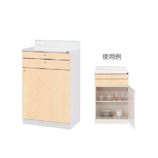 ウチダ 木製ビジネスキッチン MK型 ロータイプ 標準タイプ MK-23 RM 1-333-4114
