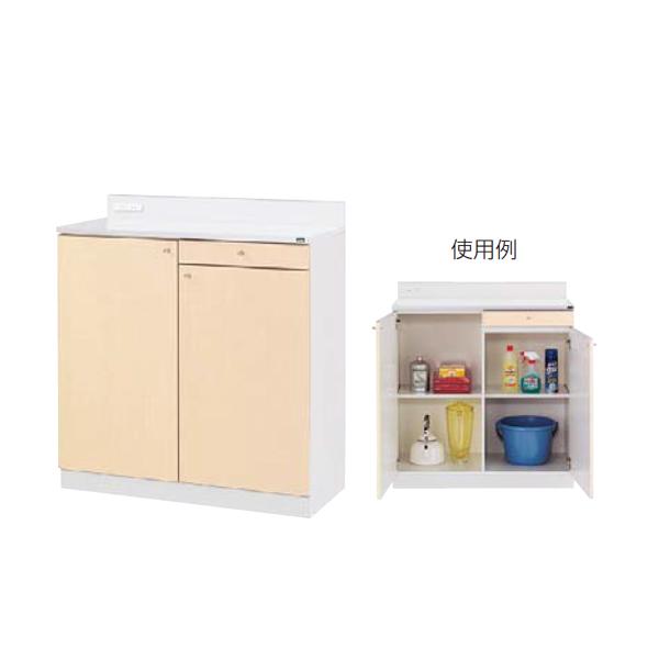 ウチダ 木製ビジネスキッチン MK型 ロータイプ 標準タイプ MK-33 RM 1-333-4124
