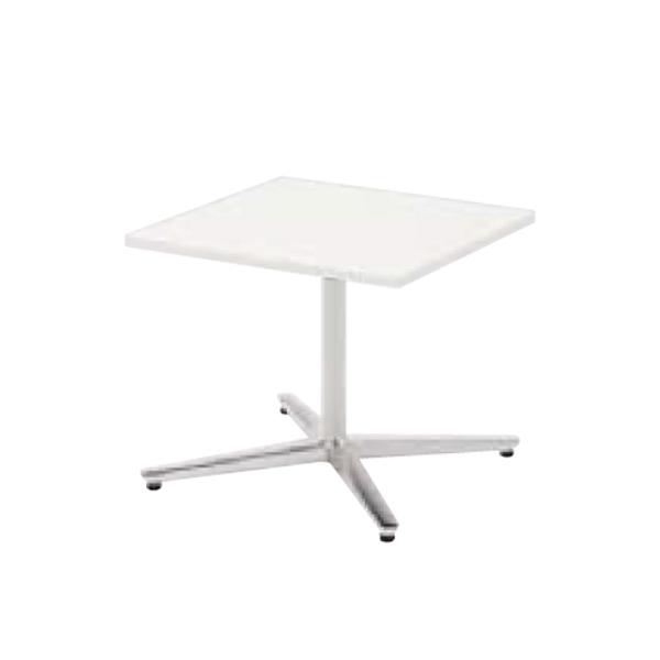 ウチダ ミーティングテーブル ニュート LX6060 十字脚 正方形 長方形タイプ ポリッシュ脚 6-178-060/6-178-010