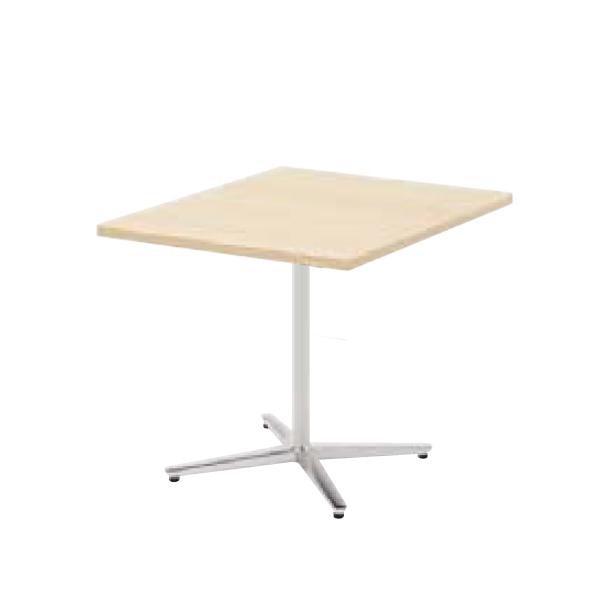 ウチダ ミーティングテーブル ニュート LX7575 十字脚 正方形 長方形タイプ ポリッシュ脚 6-178-062/6-178-012