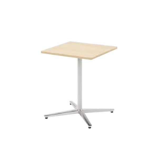 ウチダ ミーティングテーブル ニュート MX6060 十字脚 正方形 長方形タイプ ポリッシュ脚 6-178-160/6-178-110